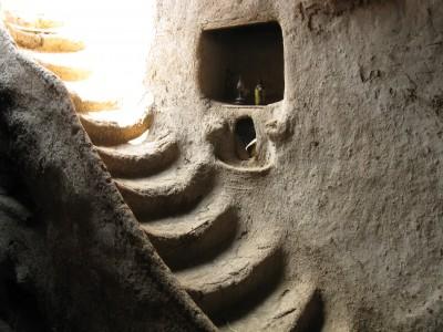 Exemple actual de casa de toves a Egipte.