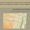 """""""L'estudi de les centuriacions romanes des de l'arqueologia del paisatge. Els casos valencians: Saetabis, Valentia i Saguntum"""", amb Xusa Ortega"""