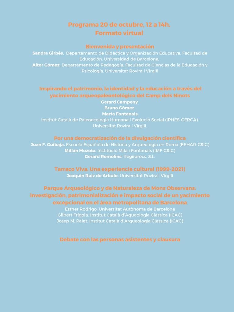 Webinar Impacto Social 2021_programa